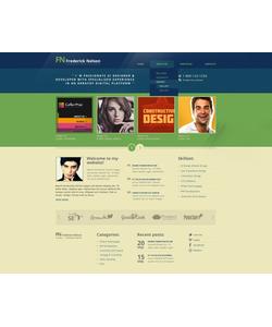 Drupal šablona na téma Web design č. 40883
