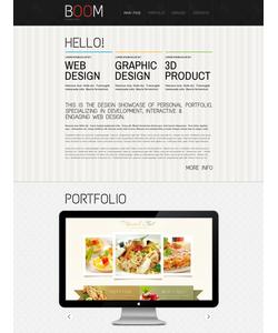 Drupal šablona na téma Web design č. 43369