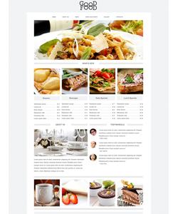 Drupal šablona na téma Café a restaurace č. 49236