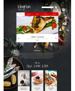 Drupal šablona na téma Café a restaurace č. 57868