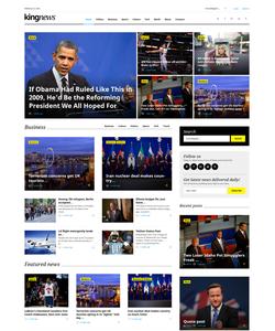 WordPress šablona na téma Podnikání č. 58404