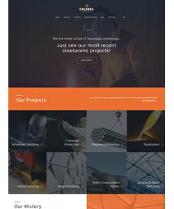 WordPress šablona na téma Průmysl č. 59027