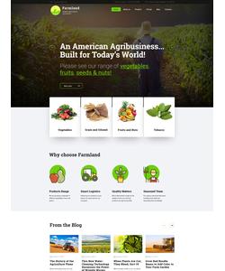 WordPress šablona na téma Zemědělství č. 60117