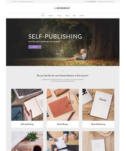 WordPress šablona na téma Knihy č. 60118