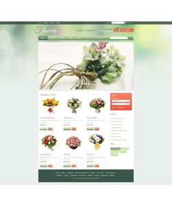 PrestaShop e-shop šablona na téma Květiny č. 41216