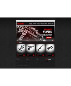 PrestaShop e-shop šablona na téma Vojenské č. 41238