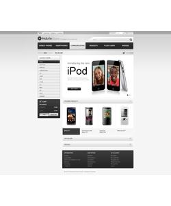 PrestaShop e-shop šablona na téma Elektronika č. 41240