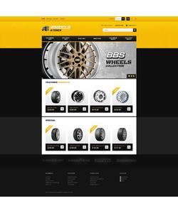PrestaShop e-shop šablona na téma Auta č. 41368