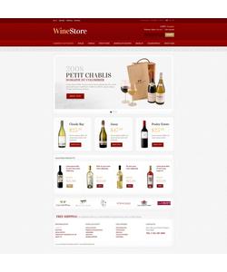 PrestaShop e-shop šablona na téma Jídlo a pití č. 41799