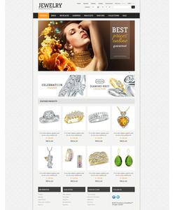 PrestaShop e-shop šablona na téma Šperky č. 42154