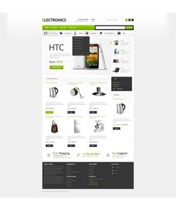 PrestaShop e-shop šablona na téma Elektronika č. 42351