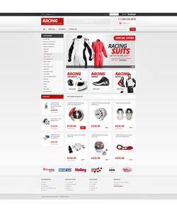 PrestaShop e-shop šablona na téma Auta č. 42503