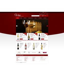 PrestaShop e-shop šablona na téma Jídlo a pití č. 42846