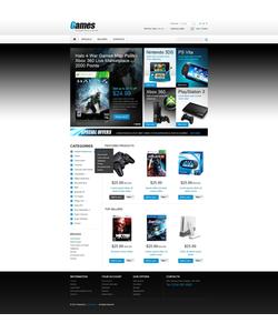 PrestaShop e-shop šablona na téma Hry č. 43053