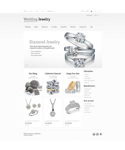 PrestaShop e-shop šablona na téma Šperky č. 43055