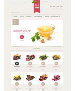 PrestaShop e-shop šablona na téma Jídlo a pití č. 43092