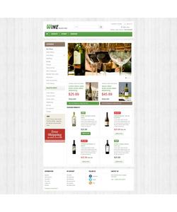 PrestaShop e-shop šablona na téma Jídlo a pití č. 43193