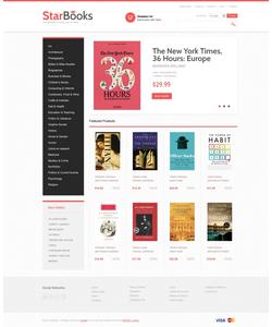 VirtueMart e-shop šablona na téma Knihy č. 43206