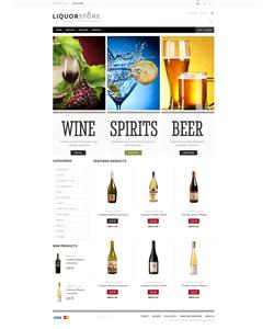 PrestaShop e-shop šablona na téma Jídlo a pití č. 43291