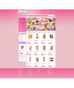 PrestaShop e-shop šablona na téma Jídlo a pití č. 43474
