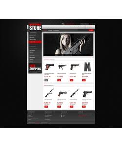 PrestaShop e-shop šablona na téma Vojenské č. 43480