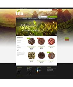 PrestaShop e-shop šablona na téma Jídlo a pití č. 43484