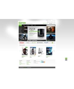 PrestaShop e-shop šablona na téma Hry č. 43715