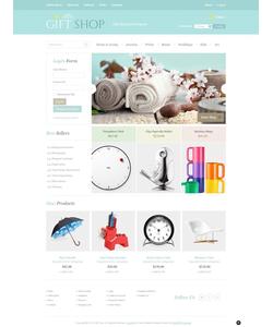 VirtueMart e-shop šablona na téma Dárky č. 43890