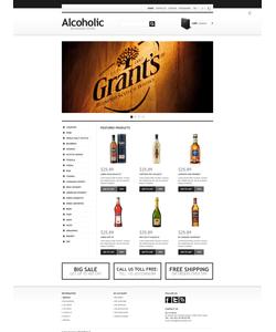 PrestaShop e-shop šablona na téma Jídlo a pití č. 44207