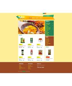 PrestaShop e-shop šablona na téma Jídlo a pití č. 44388