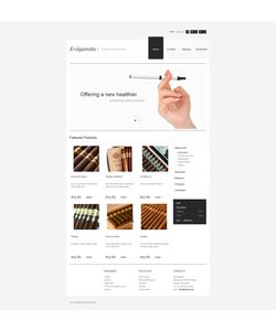 PrestaShop e-shop šablona na téma Tabák č. 44438