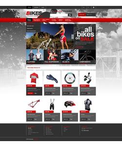 PrestaShop e-shop šablona na téma Sport č. 44691
