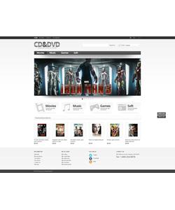 PrestaShop e-shop šablona na téma Zábava č. 44761