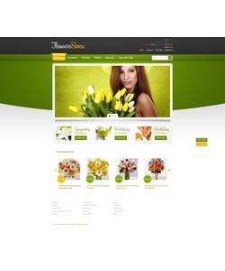 PrestaShop e-shop šablona na téma Květiny č. 44922