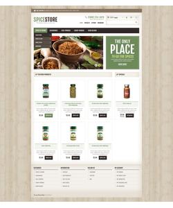 PrestaShop e-shop šablona na téma Jídlo a pití č. 45052