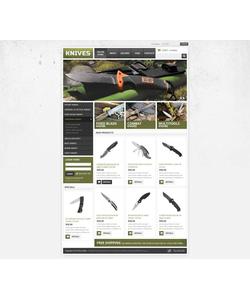 VirtueMart e-shop šablona na téma Vojenské č. 45228