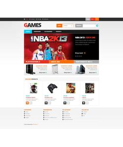 PrestaShop e-shop šablona na téma Hry č. 45347