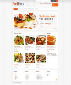 PrestaShop e-shop šablona na téma Jídlo a pití č. 45425