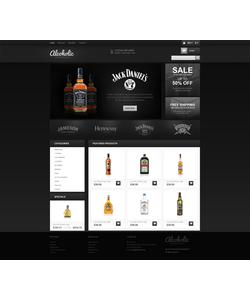 PrestaShop e-shop šablona na téma Jídlo a pití č. 45482