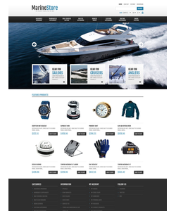 PrestaShop e-shop šablona na téma Sport č. 45551