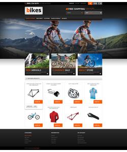 PrestaShop e-shop šablona na téma Sport č. 45584