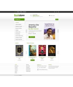 PrestaShop e-shop šablona na téma Knihy č. 45766
