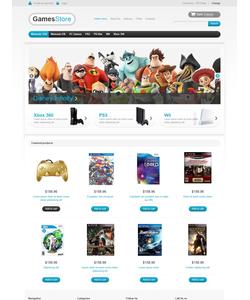 VirtueMart e-shop šablona na téma Hry č. 45938