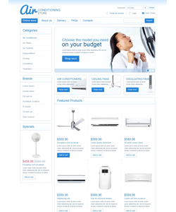 VirtueMart e-shop šablona na téma Údržbářské práce č. 45939