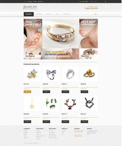 PrestaShop e-shop šablona na téma Šperky č. 45945