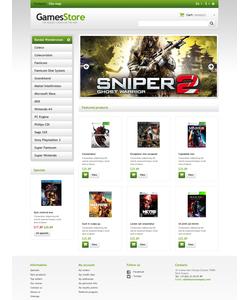 PrestaShop e-shop šablona na téma Hry č. 45946