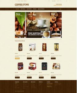 PrestaShop e-shop šablona na téma Café a restaurace č. 46016