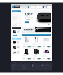 PrestaShop e-shop šablona na téma Počítače č. 46191