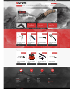 PrestaShop e-shop šablona na téma Vojenské č. 46525