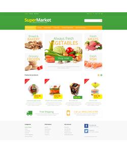 PrestaShop e-shop šablona na téma Jídlo a pití č. 46630